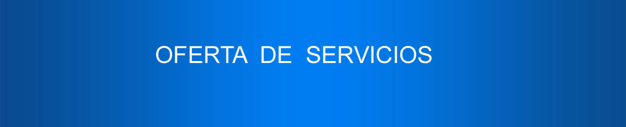 oferta servicios